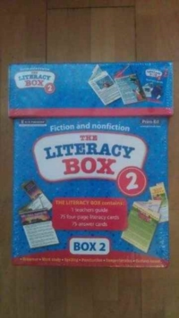 Literacy Box, Cards Book