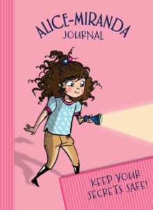 Alice-Miranda Journal with lock and key, Hardback Book