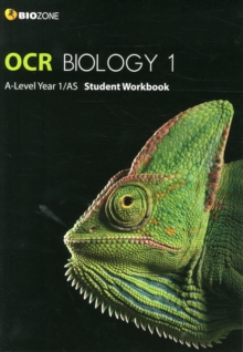 OCR Biology 1 A-Level/AS Student Workbook, Paperback / softback Book