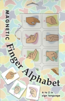 Magnetic Finger Alphabet : A to Z in Sign Language, Novelty book Book