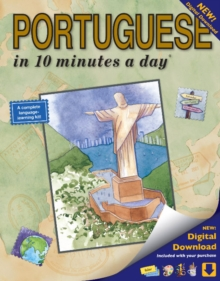 10 minutes a day : Portuguese Book with digital download, Paperback / softback Book