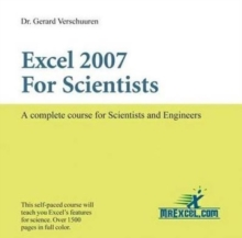 Excel 2007 for Scientists : A Complete Course for Scientists and Engineers, CD-ROM Book