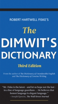Dimwit's Dictionary, Paperback / softback Book