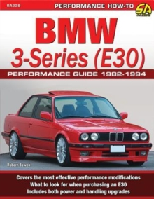 BMW 3-Series (E30) Performance Guide 1982-1994, Paperback Book