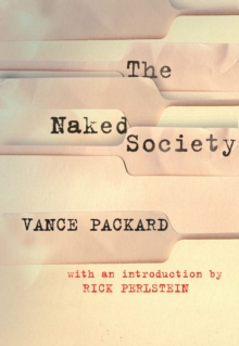 The Naked Society, Paperback Book