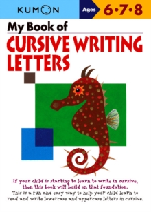 My Book of Cursive Writing: Letters, Paperback Book