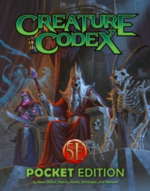 Creature Codex Pocket Edition, Paperback / softback Book
