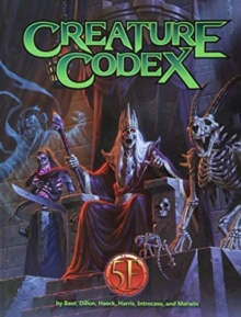 Creature Codex, Hardback Book