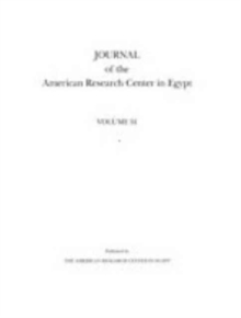 Journal of the American Research Center in Egypt, Volume 53 (2017), Paperback / softback Book