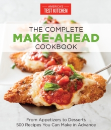 The Complete Make-Ahead Cookbook, Paperback Book