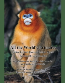 All the World's Primates, Paperback / softback Book