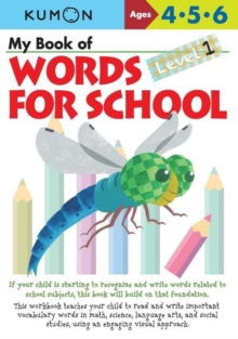 My Book of Words for School : Level 1, Paperback Book