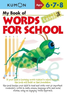My Book of Words for School : Level 3, Paperback Book