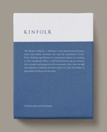 Kinfolk Notecards - the Balance Edition, Postcard book or pack Book
