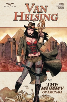 Van Helsing vs the Mummy of Amun - RA, Paperback Book