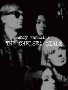 Andy Warhol's The Chelsea Girls, Hardback Book