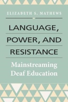 Language, Power, and Resistance, Hardback Book