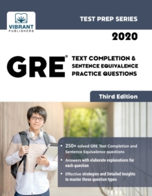GRE Text Completion & Sentence Equivalence Practice Questions, Paperback Book