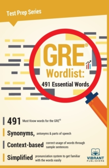 GRE Wordlist : 491 Essential Words, Paperback Book