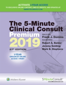 The 5-Minute Clinical Consult Premium 2019, Hardback Book