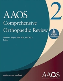 AAOS Comprehensive Orthopaedic Review 2 (3 Volume set): Print + Ebook with Multimedia, Paperback / softback Book