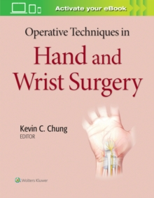 Operative Techniques in Hand and Wrist Surgery, Hardback Book