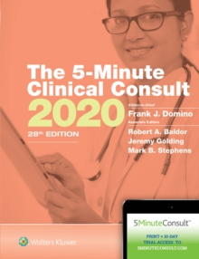 The 5-Minute Clinical Consult 2020, Hardback Book