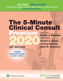The 5-Minute Clinical Consult Premium 2020, Hardback Book