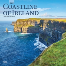 Coastline of Ireland 2019 Square Wall Calendar, Calendar Book