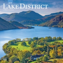 Lake District 2019 Square Wall Calendar, Calendar Book