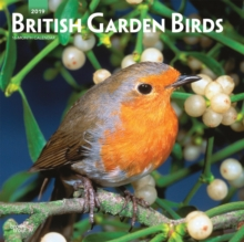 British Garden Birds 2019 Square Wall Calendar, Calendar Book