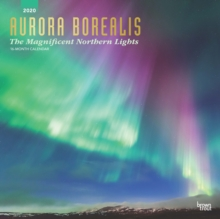 Aurora Borealis the Magnificent Northern Lights 2020 Square Wall Calendar, Calendar Book