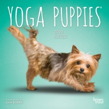 Yoga Puppies 2020 Mini Wall Calendar, Calendar Book