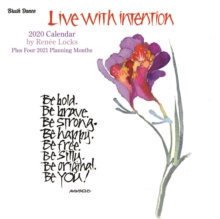 Live with Intention 2020 Mini Wall Calendar, Calendar Book