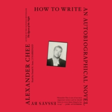 How to Write an Autobiographical Novel, eAudiobook MP3 eaudioBook