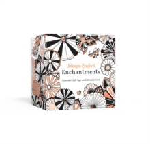 Johanna Basford Enchantments : Colorable Gift Tags with Metallic Cord, Other printed item Book