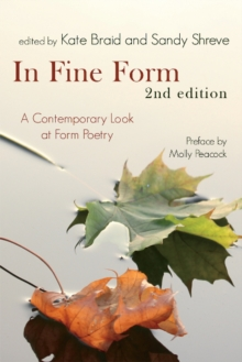 In Fine Form : A Contemporary Look at Canadian Form Poetry, Paperback Book