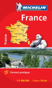 France - Michelin Mini Map 8721 : Map, Sheet map Book
