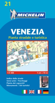 Venice / Venezia City Plan, Sheet map, folded Book