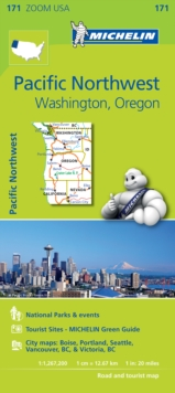 Pacific Northwest - Zoom Map 171 : Map, Sheet map Book