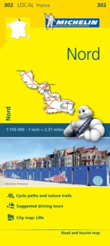 Nord - Michelin Local Map 302 : Map, Sheet map Book