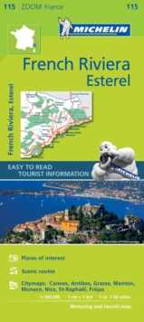 French Riviera, Esterel - Zoom Map 115 : Map, Sheet map Book