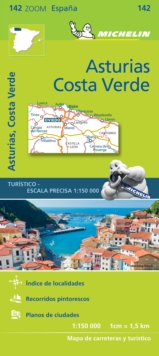 Asturias Costa Verde - Zoom Map 142 : Map, Sheet map Book
