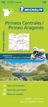 Pirineos Centrales - Zoom Map 145 : Map, Sheet map Book