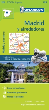 Madrid y alrededores - Zoom Map 121 : Map, Sheet map Book