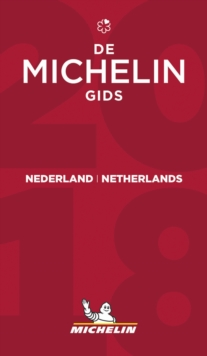 Nederland Netherlands - THE MICHELIN GUIDE 2018, Paperback Book