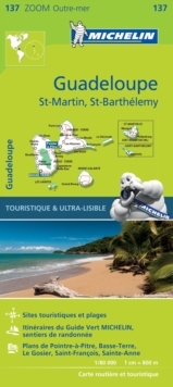 Michelin Zoom Guadeloupe Map : No. 137, Sheet map, folded Book