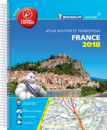 France 2018 Laminated A4, Spiral bound Book