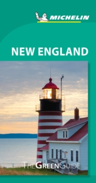 Michelin Green Guide New England (Travel Guide), Paperback Book