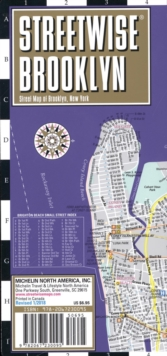 Streetwise Brooklyn Map - Laminated City Center Street Map of Brooklyn, New York, Sheet map, folded Book